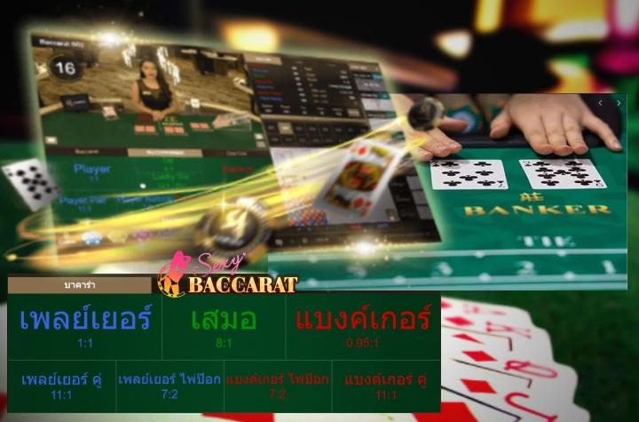 บาคาร่าไพ่คู่ เกมไพ่ออนไลน์จาก UFABET