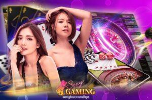 เว็บ Sexy Gaming ดีลเลอร์สาวกับรูเล็ตออนไลน์