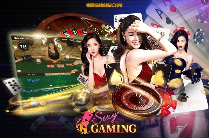 เว็บ Sexy Gaming คาสิโนสดกับดีลเลอร์สาวเซ็กซี่บาคาร่า